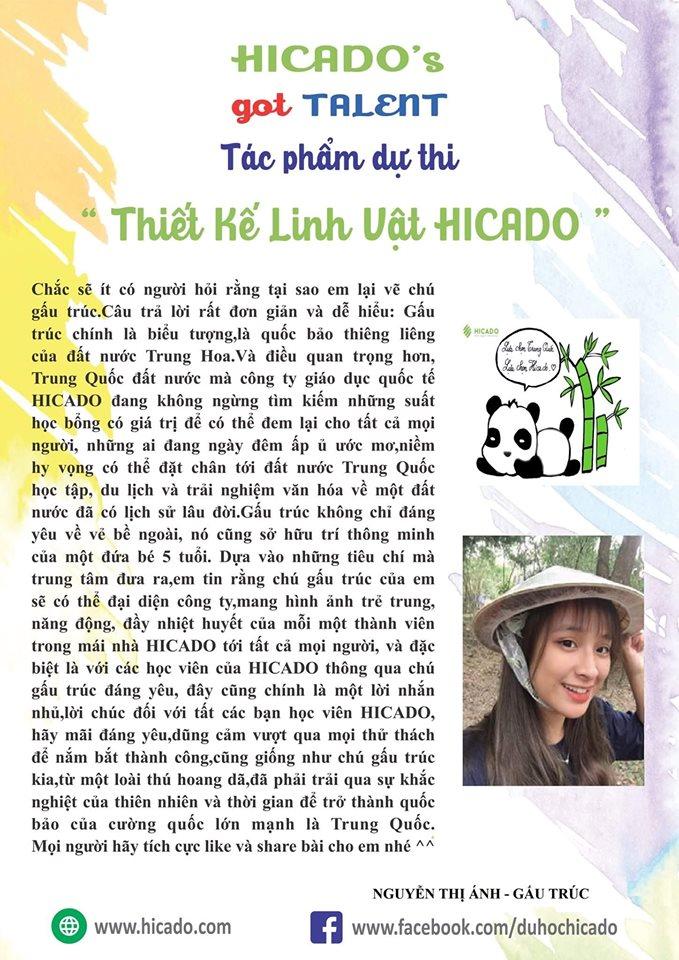 2 Gấu Trúc Nguyễn Thị Ánh (giải Yêu Thích Nhất)