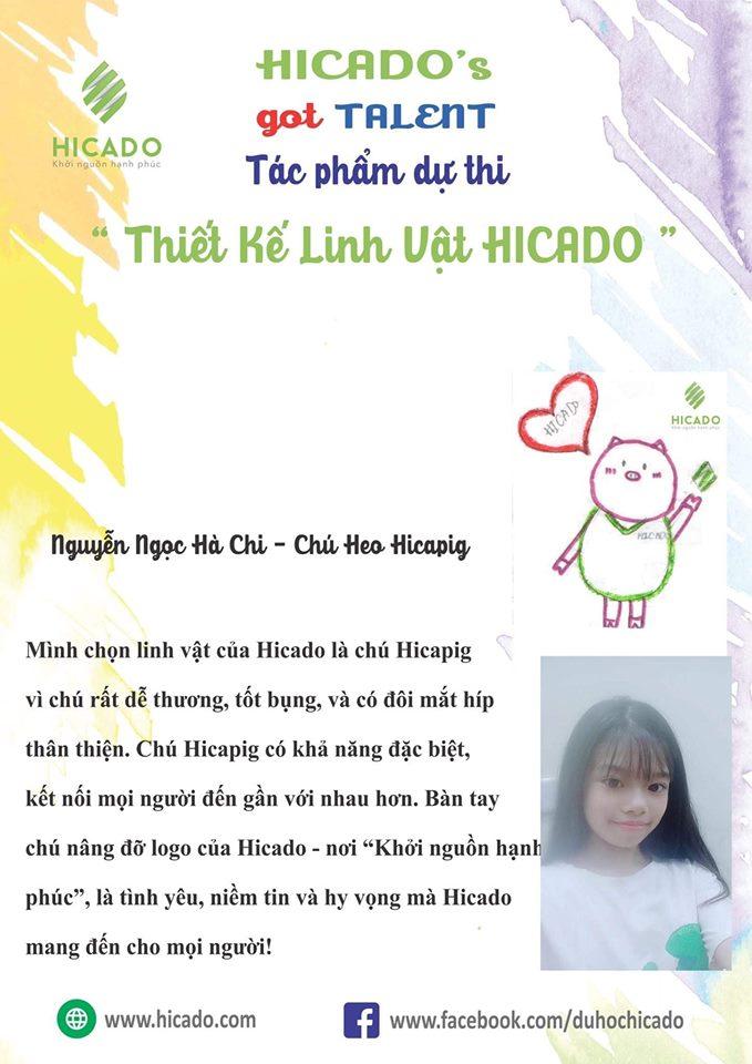 3 Hicami (hicapig) Nguyễn Ngọc Hà Chi (giải Thí Sinh Nhỏ Tuổi Nhất)