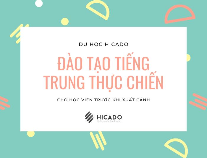 Đào tạo tiếng Trung cho học viên