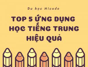 Ứng dụng học tiếng Trung