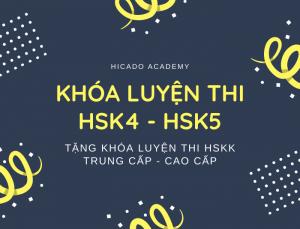 Khóa luyện thi HSK tại Hicado