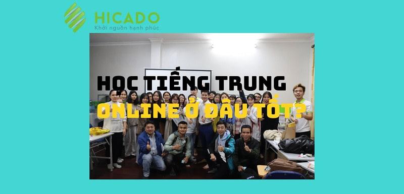 Học tiếng Trung online ở đâu tốt